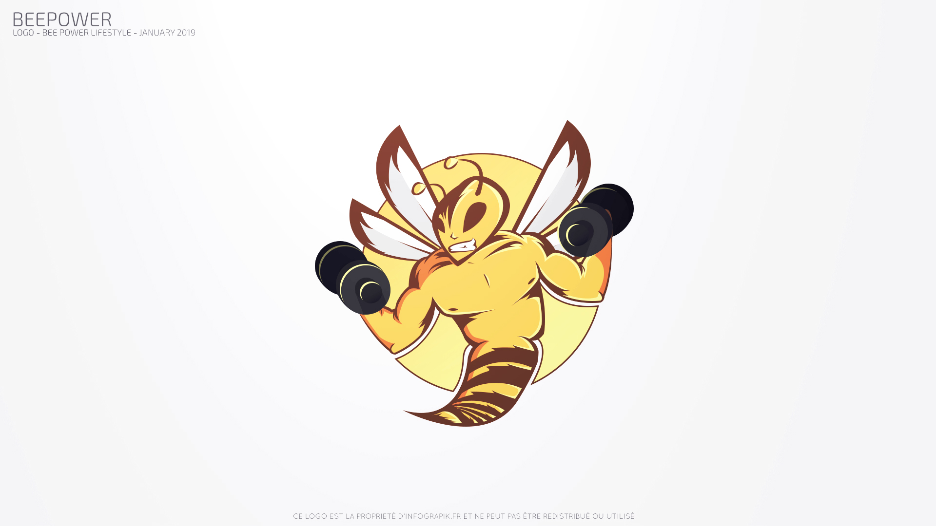 Bee flying and flexing