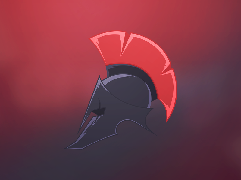 Spartiate helmet
