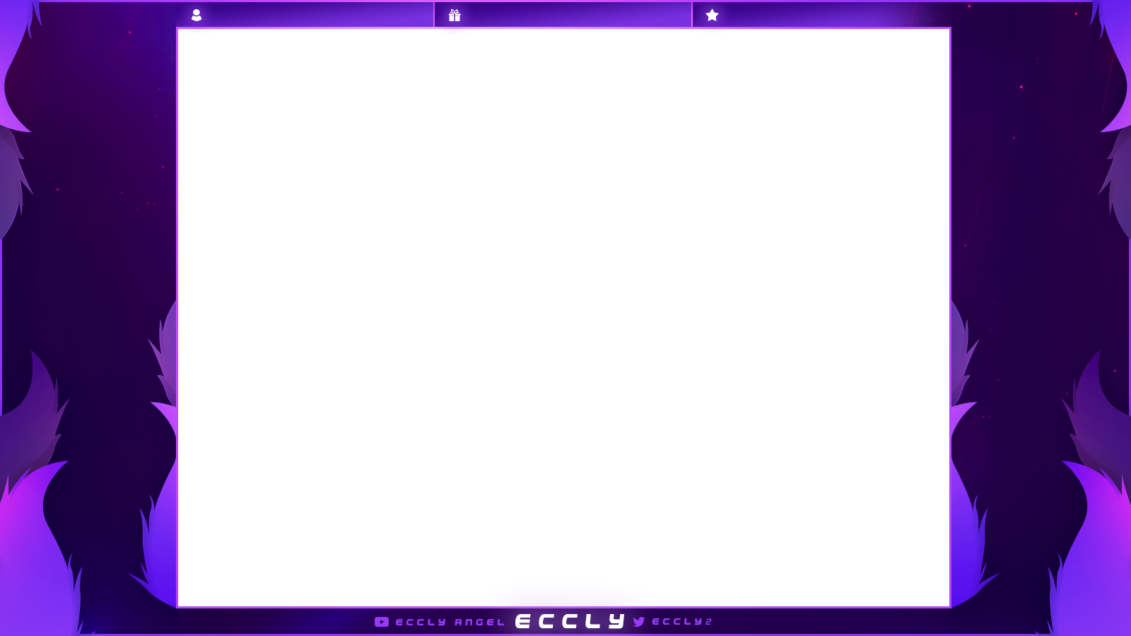 overlay with pruple nuances and flames